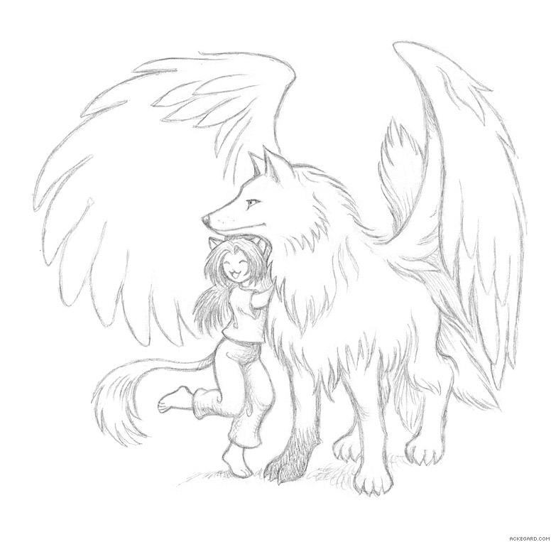 http://ackegard.com/gallery/d/8059-3/winged_wolf_and_catgirl.jpg